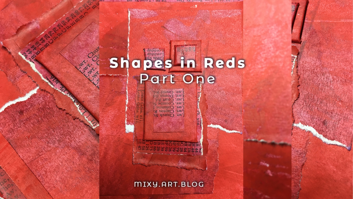 shapes in reds (part one)