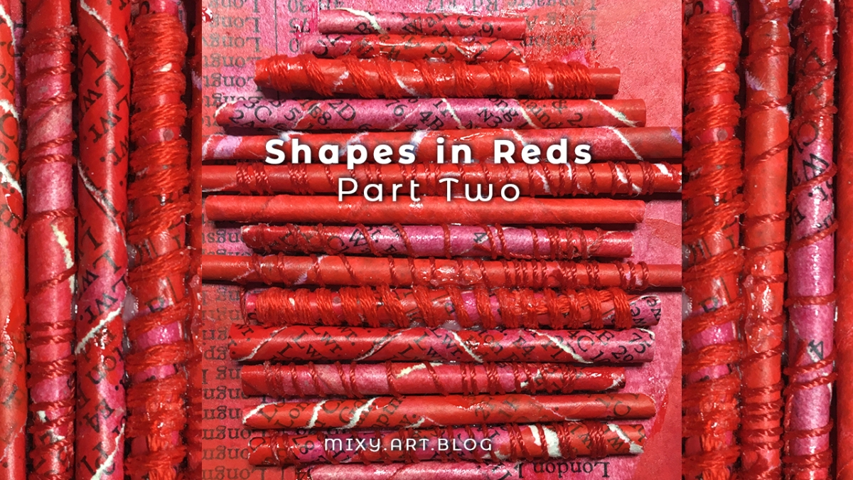 shapes in reds (part two)