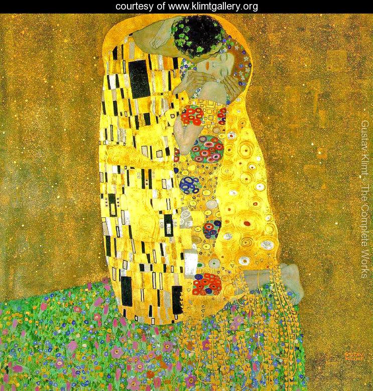 The Kiss - Gustav Klimt (1908)