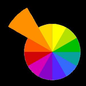 orange the color wheel